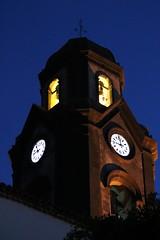 five to nine (Wackelaugen) Tags: church steeple clock churchclock puertodelacruz tenerife teneriffa spain europe canaries canaryislands canaryisles canon eos 760d photo photography stephan wackelaugen