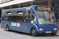 Diamond Optare Solo 20736 (YJ59 GFY) (Tividale) (john-s-91) Tags: diamond optaresolo 20736 yj59gfy birmingham route108