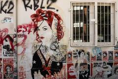Street Art (michael_hamburg69) Tags: hamburg germany deutschland streetart urbanart stencil wall mittenimwald artist künstler altona