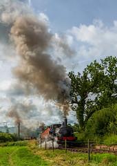 Foxfield Railway 21-7-2019 (KS Railway Gallery) Tags: foxfield railtour summer gala uk steam beyer peacock