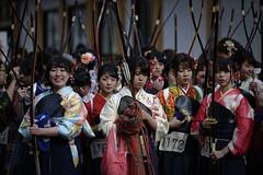 Toshiya - 通し矢 (小川 Ogawasan) Tags: japan japon kyoto japanese toshiya 通し矢 archery kyudo lady
