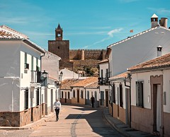 Antequera (lauracastillo5) Tags: landscape street city cityscape urban people architecture town tower sun sky