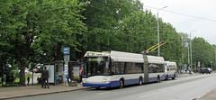 Latvia - Riga bus (onewayticket) Tags: bus transport urban street trolley trolleybus rigassatiksme skoda solaris trollino skodasolaristrollino 26640 riga latvia