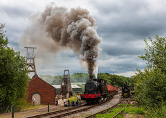Foxfield Railway 21-7-2019 (KS Railway Gallery) Tags: foxfield railtour summer gala uk steam colliery carron no14