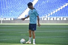 DSC_3650 (Noelia Déniz) Tags: rcde espanyol entreno training treino previa davidgallego rdp media europaleague fútbol football futebol soccer perico blanquiazul