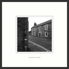 Callander - Scotland (Peter de Bock (exploring)) Tags: tiltshift callander scotland house black white art street line