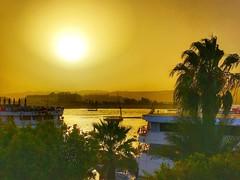 Aswan sunset, Egypt