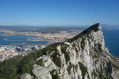 Gibraltar Rock (*Tom68*) Tags: gibraltar outdoor felsen airport flughafen