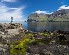 Selkie of Mikladalur (Tom Neumann) Tags: faroe feroe atlantic mikladalur selkie sony samyang sonya7m2 ilce7m2 landscape paisaje naturaleza nature fjords fiordos ocean oceano legend leyenda