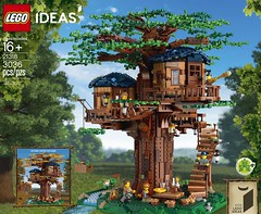 Tree House Now Available For VIPs (fbtb) Tags: 21318 tree house