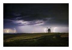 The Storm (ben_wtrs79) Tags: lightning chesterton windmill storm landscape fujifilm xt2 35mm f2
