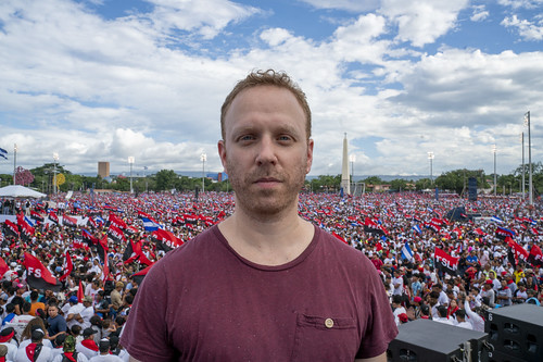 Max Blumenthal FSLN 40th anniversary Nicaragua, From FlickrPhotos