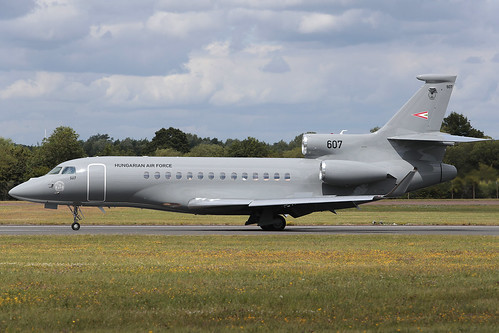 Dassault Falcon 7X 607 Hungarian Air Force - a photo on