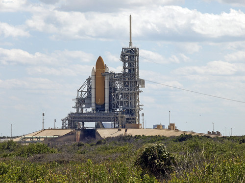 NASA LC-39B with Space Shuttle 13