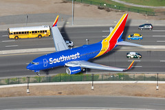N7835A, Southwest Airlines, Boeing 737-752(WL), KLAX, December 2017 (a2md88) Tags:
