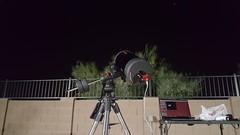 Setup (NikulSuthar) Tags: astronomy astrophotography celestron avx schmidtcassegrain zwo firecapture