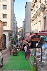 Istanbul sidestreet (stevelamb007) Tags: turkey istanbul oldtown sultanahmet sidestreet streetscene nikon d90 stevelamb
