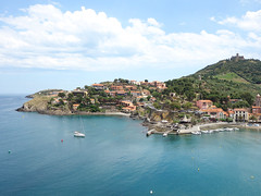 Collioure (Kaeko) Tags: collioure france europe vacation town resort boat ocean sea holiday travel trip castle landscape clouds sky meditteranean