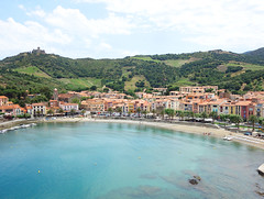 Collioure (Kaeko) Tags: collioure france europe vacation town resort holiday beach ocean sea water travel trip castle mountain landscape