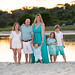 Third year with this family, we had a nice sunset tonight but the kids were worn out - North Beach Plantation