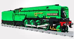 Blogged! (Britishbricks) Tags: lego lner p2 princeofwales steam engine train moc custom bmr brick model railroader blogged 2007