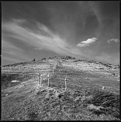 Petit Hohneck - Vosges (JJ_REY) Tags: petithohneck vosges montagnes mountains film mediumformat 6x6 bw fuji acros100 rodinal hasselblad 501c planar80mmf28 alsace france