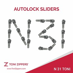 Grab this offer, Free Samples Alert! #3 Heavy Auto-Lock Slider(N31 H-Toni) (tonizippers) Tags: sliders slider toni tonizippers tonislider tonisliders manufacturers manufacturer manufacturing zippers zipper zip zipperfasteners zipfasteners fasteners n31 auto lock