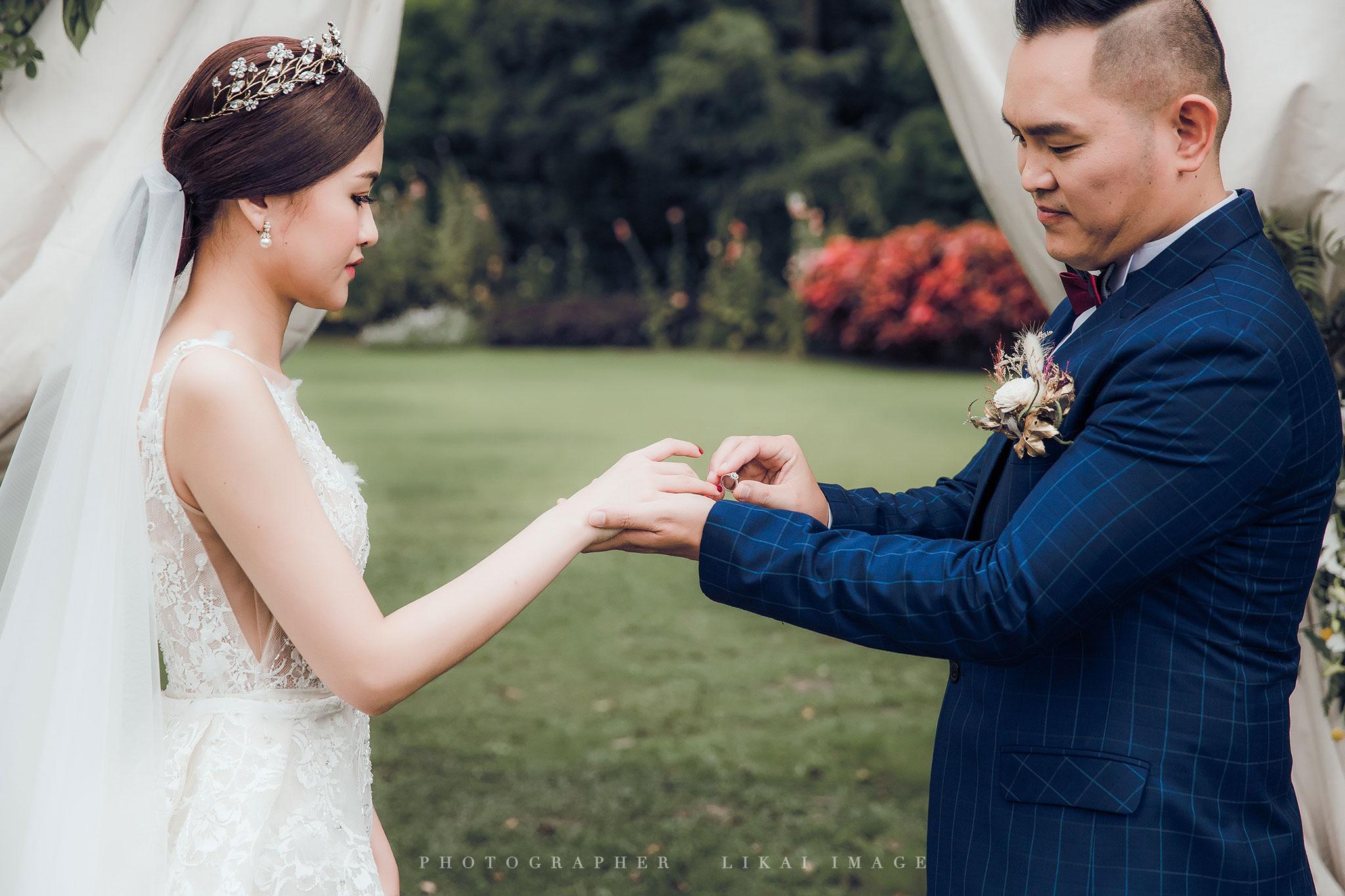 婚禮紀錄 - 曉雯&建智 - 納美花園