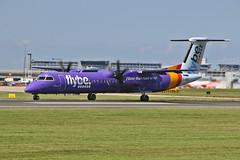 G-JEDT DHC-8Q 401 Flybe MAN 23-07-19 (PlanecrazyUK) Tags: egcc manchester ringway manchesterairport gjedt dhc8q401 flybe man 230719