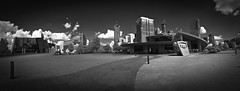 World of Coca Cola- Museum, Downtown Atlanta, Georgia- (Infrared Photography- B&W + Panorama) (jc reyes) Tags: travels ir infrared infraredmaster digitalinfrared infraredimages infraredworld infraredphoto irfilter irphotography colorinfrared falsecolors invisiblelight creativeir creativeiramericas creativeireurope iginfrared photography infraredcamera infraredlandscape kolarivision jawdroppingshots epiccaptures igworld nikon nikonphotography nikkor georgia coke atlanta