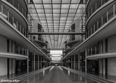 I'm Center of power (andreasscharr) Tags: canon5dmarkiv ef24105mmf4lisusm berlin germany deutschland blackandwhite schwarzweiss monochrom einfarbig architecture architektur
