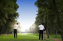 man golf swing (isogood) Tags: competitionchallengeprecisiontarget golfswinggolfergreenswing golf swing golfer green putt putting competition challenge precision target