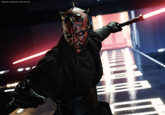 Hot Toys Darth Maul (dorklordcollectibles) Tags: hottoys actionfigure toy onesixth onesixthscale toyphotography sonya6000 a6000 starwars darthmaul raypark thephantommenace