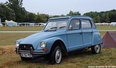 Citroën Dyane 1980 (XBXG) Tags: aw184pq citroën dyane 1980 citroëndyane blue bleu