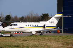 EI-ECE  Hawker 800XP (n707pm) Tags: eiece hawker hs125 hawker800xp bizjet corporate einn snn coclare ireland airlinkairways 11042010 cn258496 shannonairport rineanna
