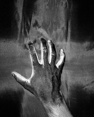 'Paint for your life' - Part One (Neo-noir) Tags: cinema film movie hand noir life paint mano mono absoluteblackandwhite art philosophy finger