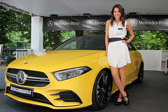 Yellow car (FM54TO) Tags: modella mercedes
