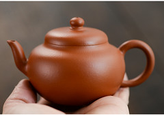 "Yixing ""Si Yuan"" Teapot Capacity around 110CC  ""Zhao Zhuang Zhu Ni"" Mud (John@Kingtea) Tags: yixing siyuan teapot capacity around 110cc zhaozhuangzhuni mud"