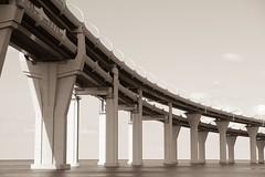 (Listenwave Photography) Tags: sepia merrill foveon sigmadp3m autobahn bridge