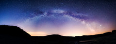 Milky Way (◄Laurent Moulin photographie►) Tags: milky way voie lactee vestide du pal montpezat sous bauzon ardeche photo de nuit by night volcan france paysage panorama landscape