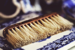 You Must Live Forwards (><Nessa><) Tags: 90mm macro antiques colors brush horsehairbrush market colour shop historic summer niagaraonthelake ontario copyrightvanessabartosek