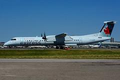 C-GJZF (Air Canada express - JAZZ) (Steelhead 2010) Tags: aircanada aircanadaexpress jazz dhc8 dhc8q400 bombardier yyz creg cgjzf