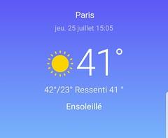 Canicule !!!!! (мιѕѕ ιɴcoɢɴιтo) Tags: paris canicule temperature