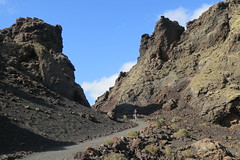 Timanfaya National Park in Lanzarote (Sokleine) Tags: volcan volcano volcanic landscape hiking paysage lanzarote spain espagne espana canaryislands canarias canaries europe eu