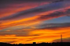 Sunset  glow (mattlaiphotos) Tags: sunset sky colorful clouds sunsetclouds nature landscape scenery light glow nightfall dusk twilight evening silhouette