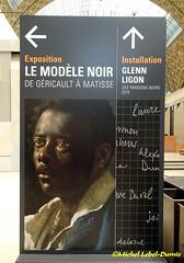 Le Modèle Noir (m.lebel) Tags: géricault matisse lemodèlenoir muséedorsay france paris iledefrance exposition exhibition lenègrejoseph étudedhomme esclavage