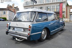 Citroën DS ID 20F Break 1975 (Monde-Auto Passion Photos) Tags: voiture vehicule auto automobile citroën ds id break bleu blue ancienne classique rare rareté collection vente enchère osenat france fontainebleau