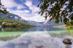 Lake Bohinj. Slovenia.