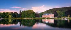 Château de Dave (Namur) à l'heure bleue [in Explore] (cedant1) Tags: namur belgium belgique belgie dave castle chateau meuse river water reflection clouds blue bluehour threes longexposure nikond750 nikkorafs1635f4g nisicpl nisiv5pro cokingnd cokin gnd4 nikon wallonia wallonie patrimoine boat