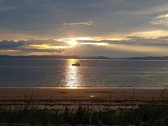 Photo of sunset from Portmahomack